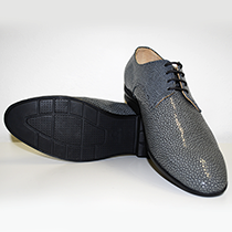 Men's shoe stingray leather