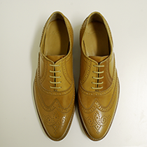 Men's shoe cordovan leather
